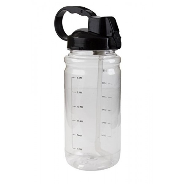 45 oz Hydration Water Bottle With a Stra...