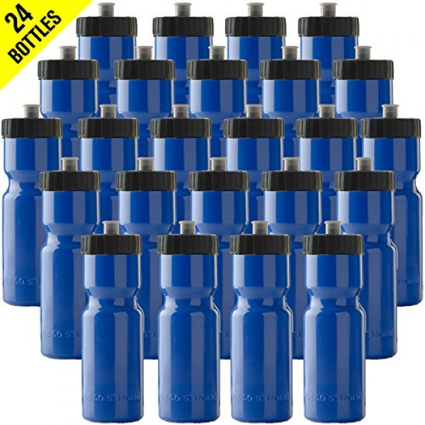 50 Strong Sports Squeeze Water Bottle Bu...