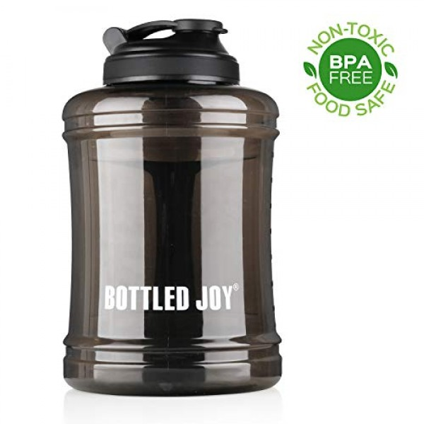 BOTTLED JOY Water Jug 2.5L/83oz Large Ca...