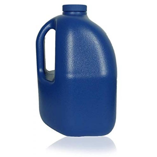 1 Gallon BPA Free Reusable Plastic Drinking Water Bottle Jug Container