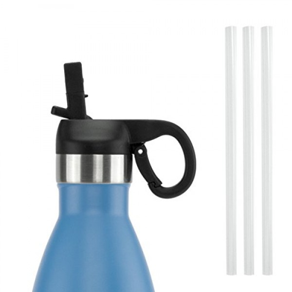 ICONIQ Pop Up Straw Cap for 25 Ounce Ins...