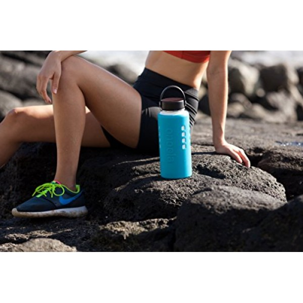 Onoola Silicone Sleeve for Hydro Flask Water Bottles (Multiple Sizes & Colors)