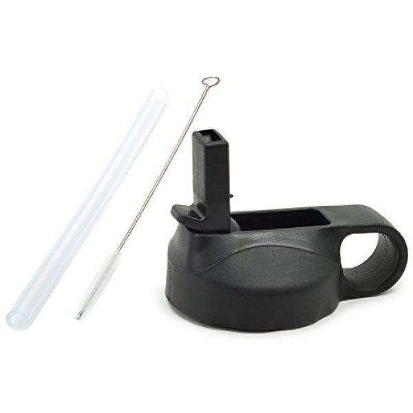 24oz/64oz Wide Mouth Straw lid + Silicon...